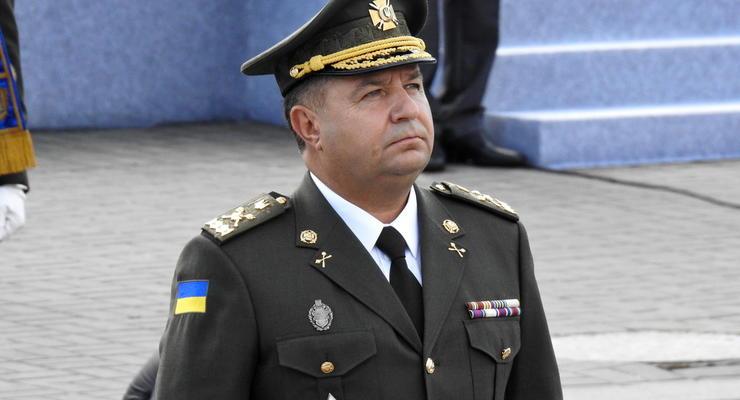 Сколько заработал в марте министр обороны Полторак
