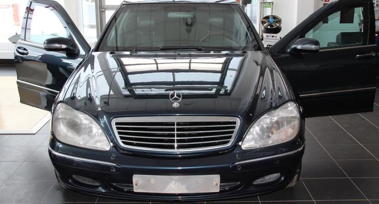 В РФ продают Mercedes Путина