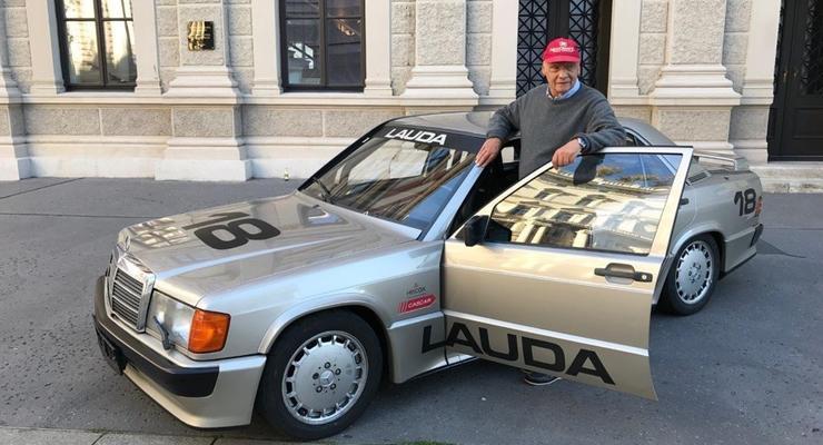 В Германии продают гоночный Мерседес Ники Лауды