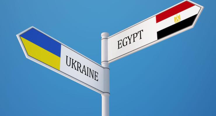 Украина готова участвовать в проектах с Египтом почти на 300 млн долларов