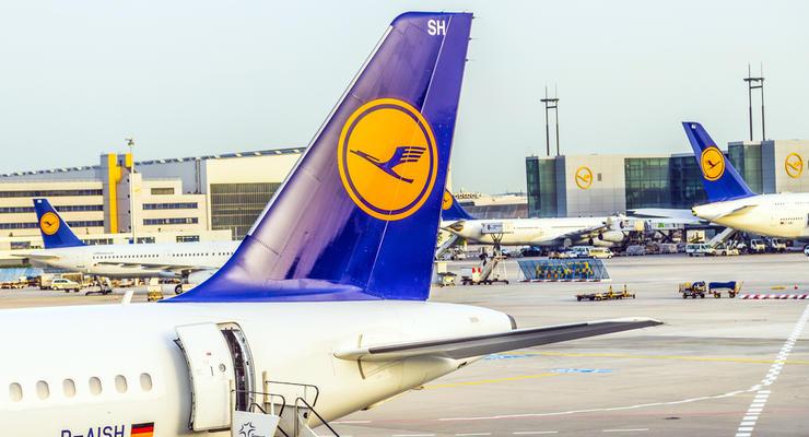 Lufthansa увеличила количество рейсов в Киев