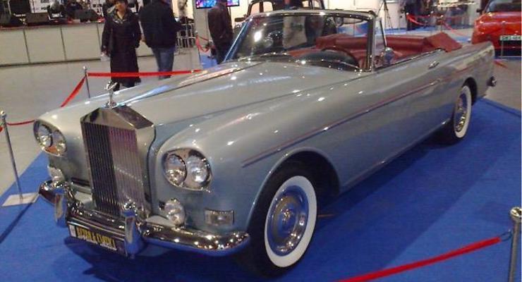 В Украине продают роскошный Rolls-Royce