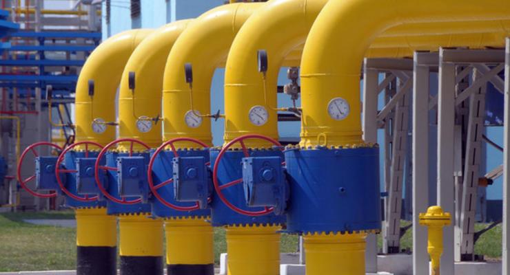Транзит сжиженного газа через Украину сократился