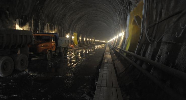 Когда в Украине закончат Бескидский тоннель