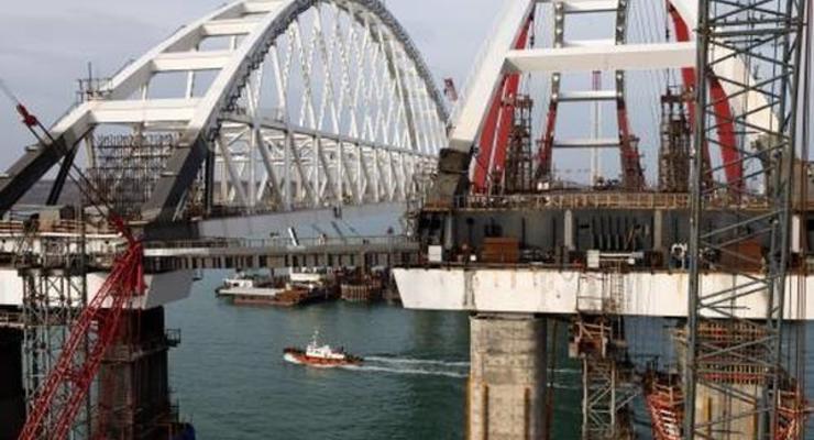 Началось движение транспорта по Керченскому мосту