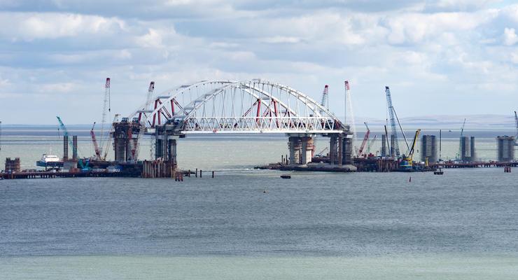 Украина подсчитала прямые убытки от Керченского моста
