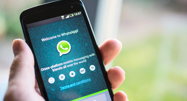 В России заявили о временной блокировке WhatsApp