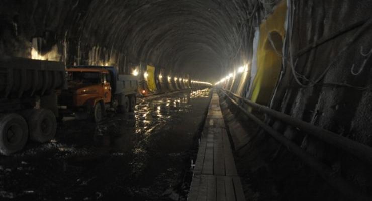 В Украине анонсировали открытие Бескидского тоннеля
