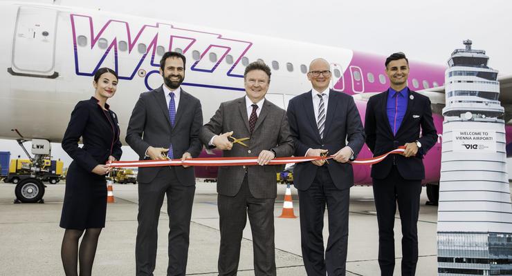 Wizz Air святкує відкриття бази у Відні