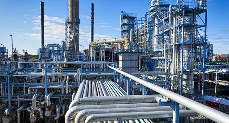 Украина заполнила газовые хранилища на треть