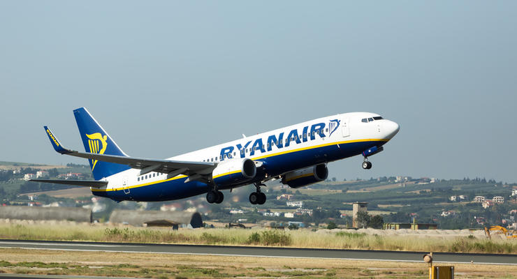 Когда стоит ожидать старта рейсов Ryanair из Киева