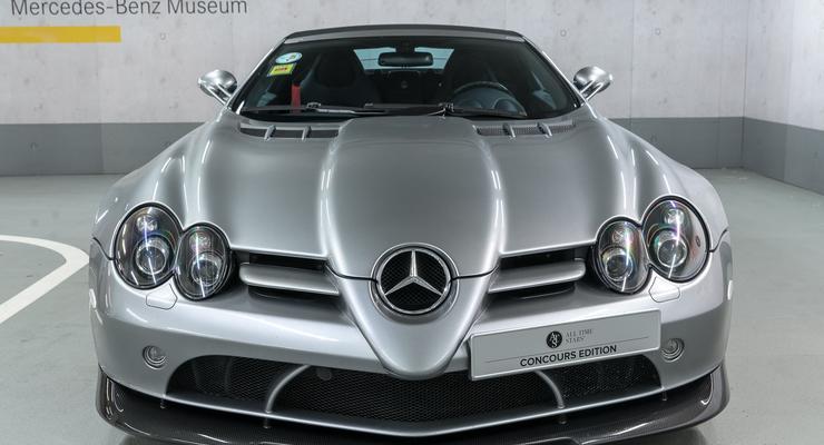 Mercedes за 1,2 млн евро продает музейный суперкар