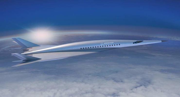 Boeing запустит сверхзвуковой лайнер