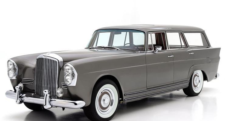 На продажу выставили уникальный универсал Bentley