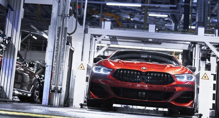 BMW начала производство нового купе
