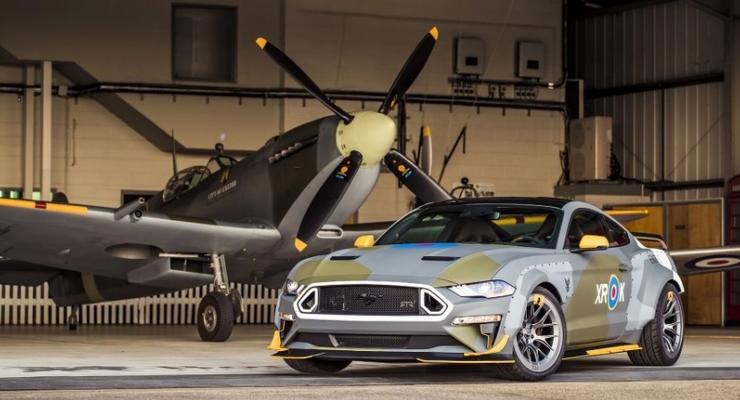 Ford выпустил уникальный Mustang в честь британских ВВС