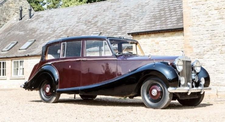 В Британии продадут лимузин Елизаветы II