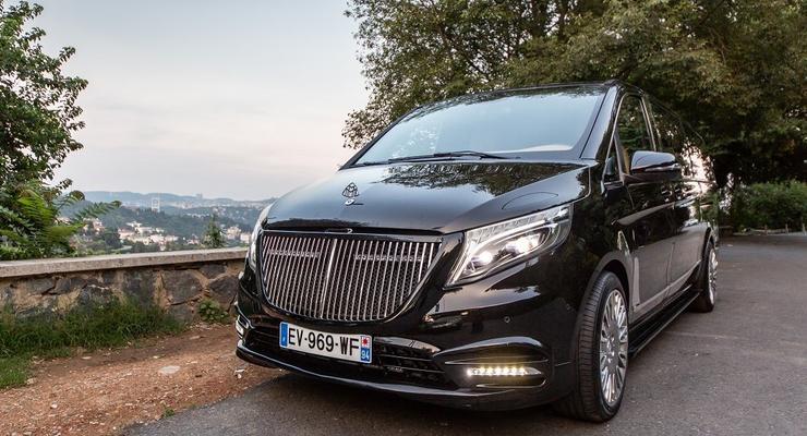 Во Франции создали роскошный минивэн Mercedes