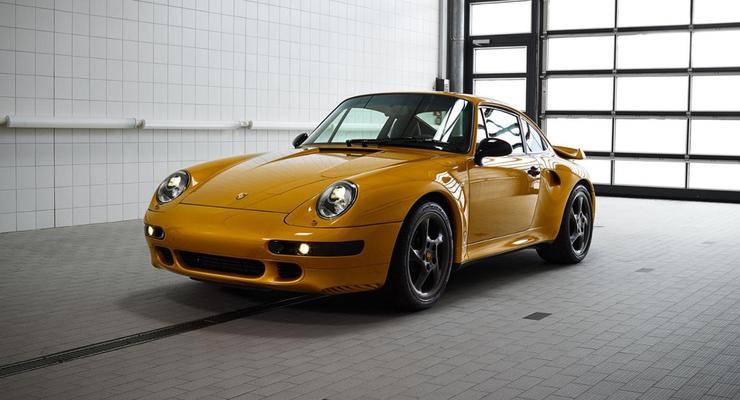 Porsche показала уникальный спорткар