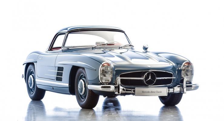 В Германии выставлен на продажу легендарный кабриолет Mercedes