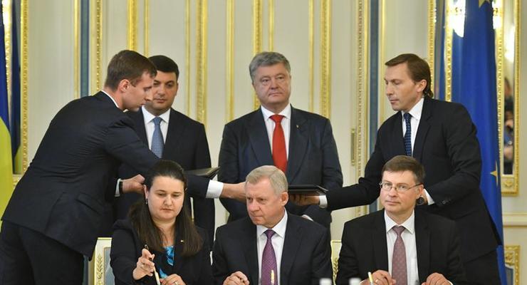 Еврокомиссия перенесла невыполненные Украиной требования на 2019 год