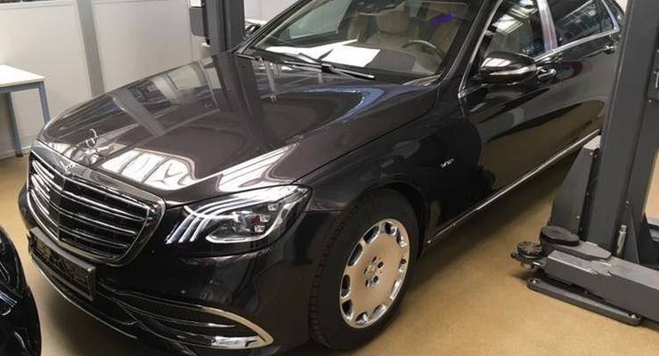 В Украину привезли бронированный Mercedes-Maybach за 700 тысяч евро