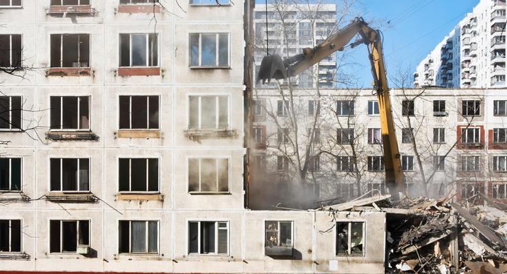"""В Украине начинают снос """"хрущевок"""""""