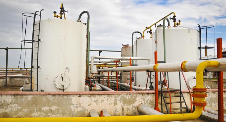 Украина сократила импорт газа почти на четверть