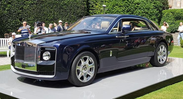 Rolls-Royce запустит в производство самое дорогое авто в мире