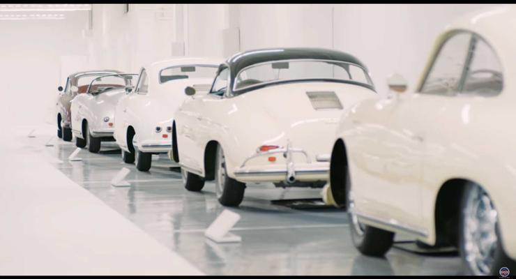 В Штатах показали частную коллекцию белых Porshe
