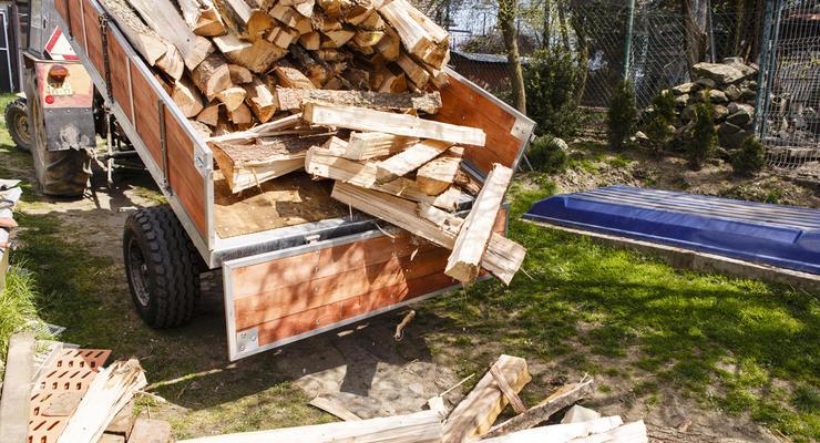 В 2018 году Украина продала почти в 600 раз больше дров, чем древесины