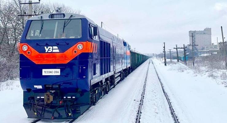 Последние 5 из 30 тепловозов General Electric прибыли в Украину