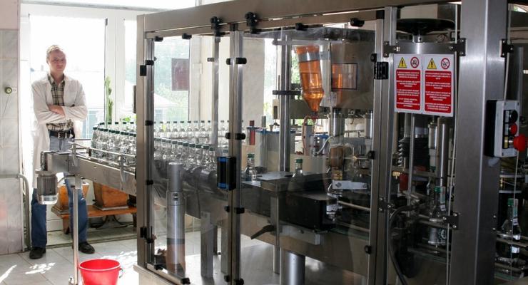 Украинские предприятия сократили производство водки – Госстат