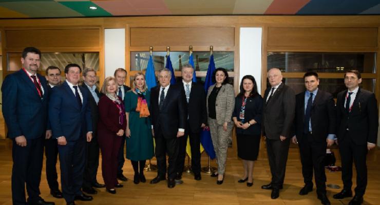 Порошенко: В ЕС одобрили синхронизацию европейского энергорынка с украинским