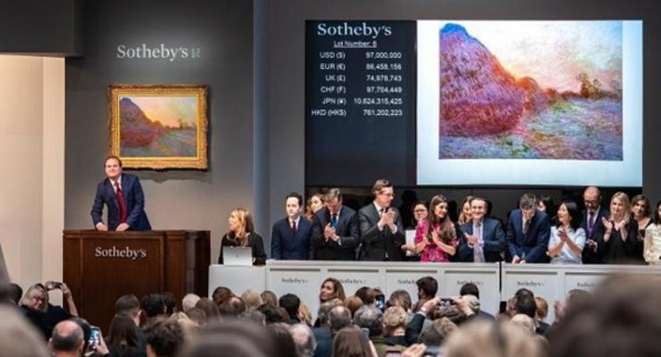 За сколько продали картину Клода Моне на аукционе Sotheby's