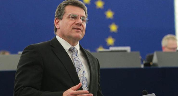 Вице-президент Еврокомиссии Шефчович: рынок электроэнергии необходимо запустить с 1 июля этого года