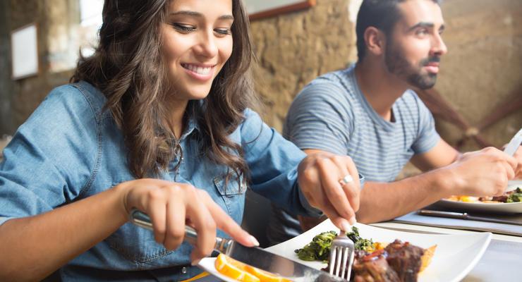 Сколько в Киеве стоит обед в заведениях