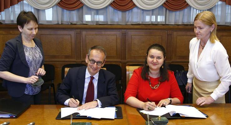 Минфин и ЕБРР подписали договор почти на 150 млн евро