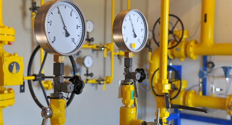 Украина заполнила хранилища газом на 64%