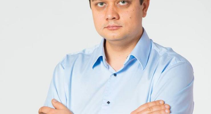 """Разумков подтвердил отставку с поста главы партии """"Слуга народа"""""""