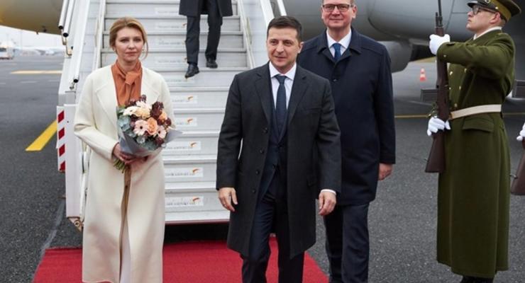 Жена Зеленского надела шерстяное пальто почти за 1000 долларов
