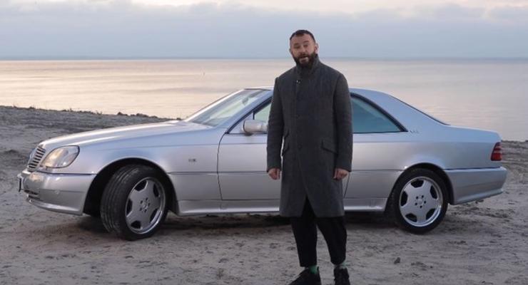 Дубинский показал свой уникальный Mercedes, которых всего 18 в мире
