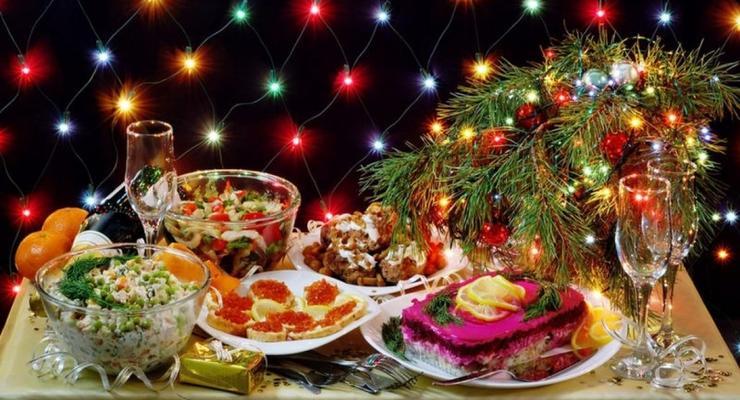 Новый год-2020: Список блюд и их стоимость