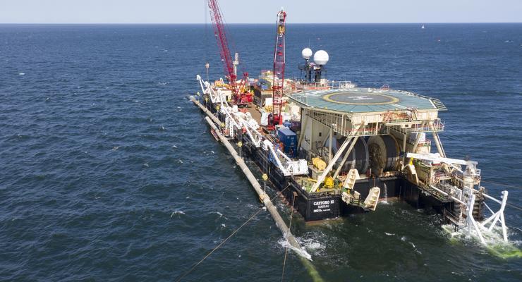 Строительство Nord Stream 2 остановлено с 21 декабря