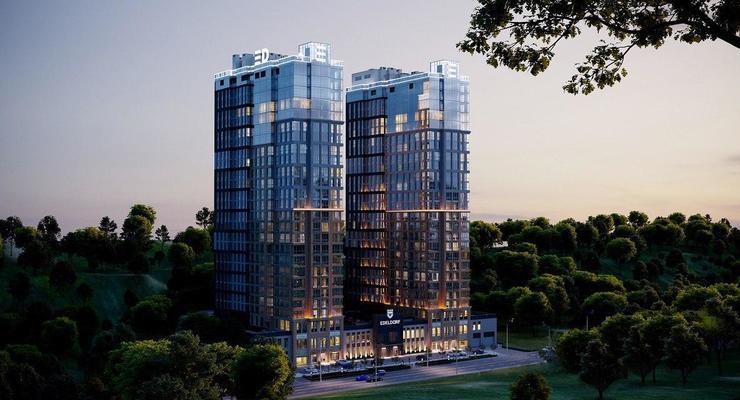 В Edeldorf приступили к возведению верхних жилых этажей