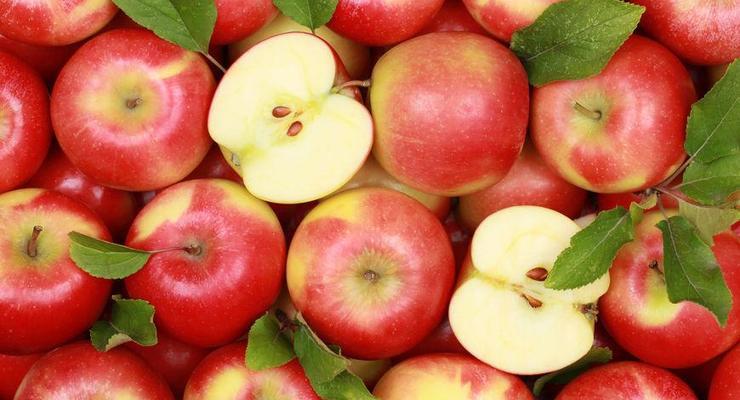 Яблоки подорожали на 85% за год