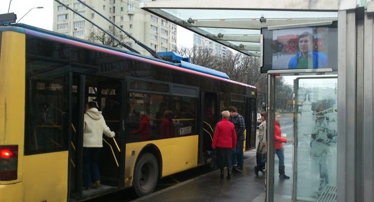 Теперь киевский транспорт можно отслеживать