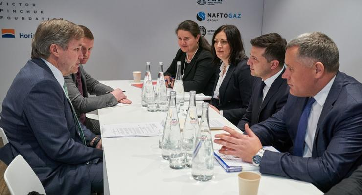 Зеленский встретился с инвесторами в аграрный сектор Украины