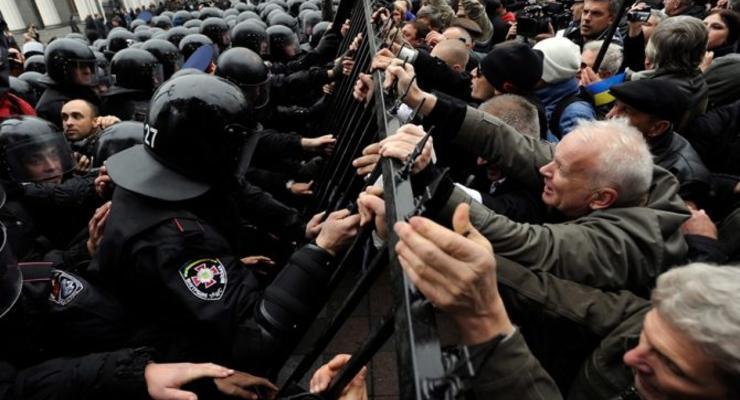 На Галицкой таможне прошли массовые акции протеста