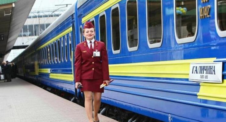 Названы самые популярные маршруты поездов в Украине